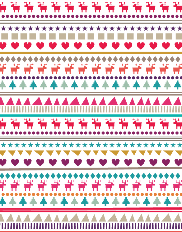 Christmas Patterns Thecarolinejohansson Classy Christmas Patterns