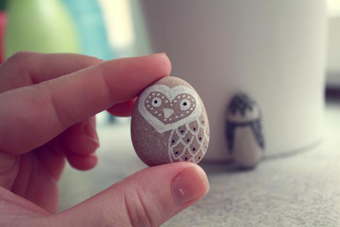 Owl Pebbles Thecarolinejohansson Com