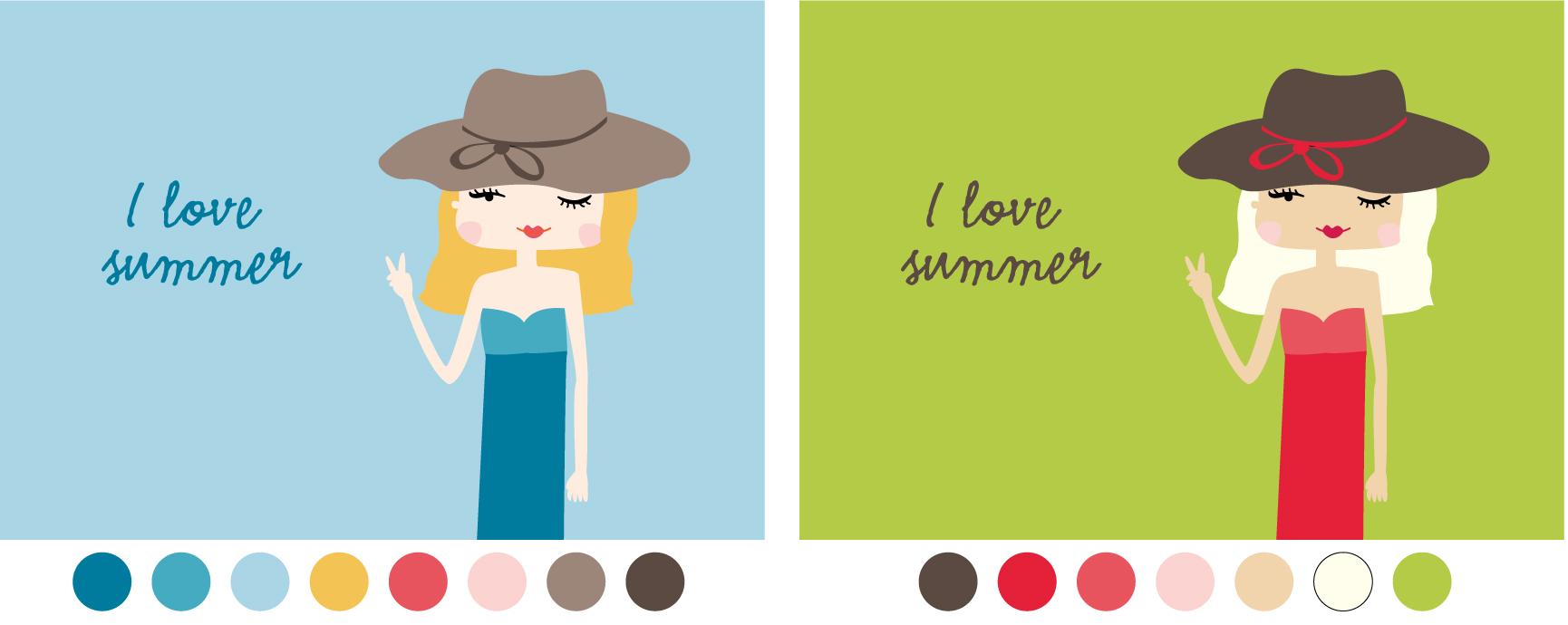 Summer Girl: Colour Variations | thecarolinejohansson.com