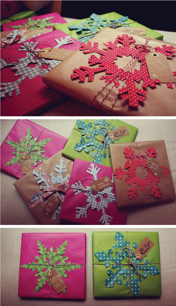 1000 images about giftwrapping diy on pinterest gift for Paper christmas gifts